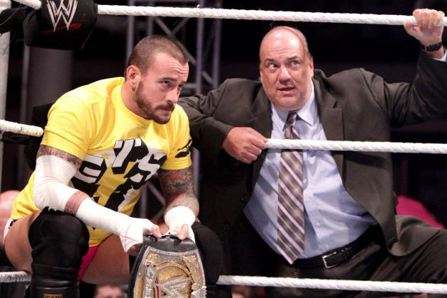 Paul Heyman and CM Punk Will Make Punk vs. Brock Lesnar Feud of the Year