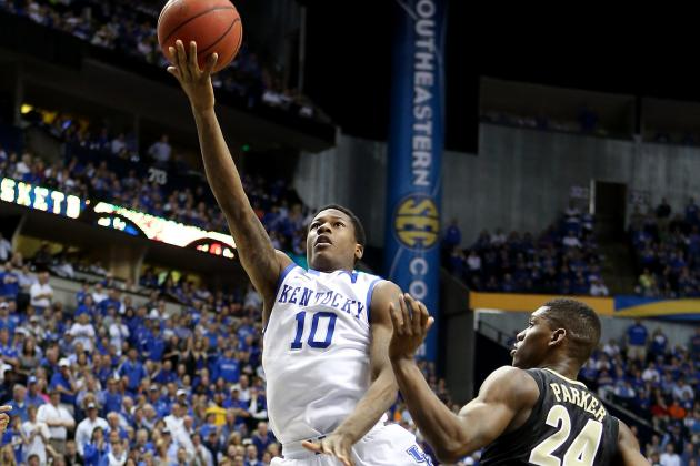 Calipari Still Believes Goodwin Can Be First-Round Draft Choice