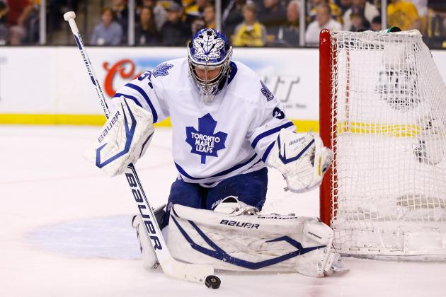 James Reimer Sees Jonathan Bernier Trade as 'a Challenge'