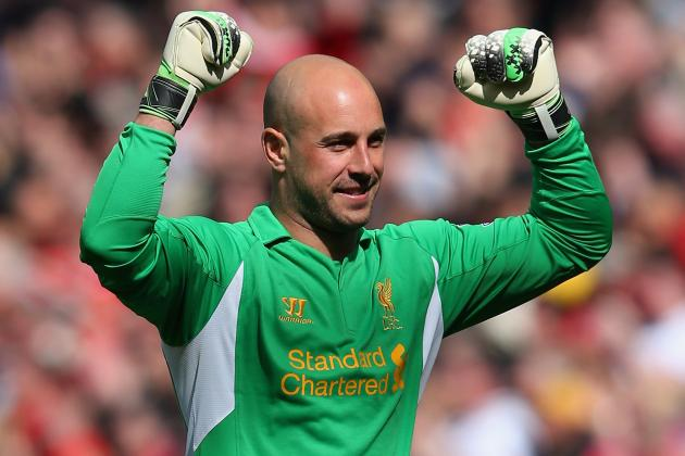 Rodgers: Reina Not Set for Reds Exit