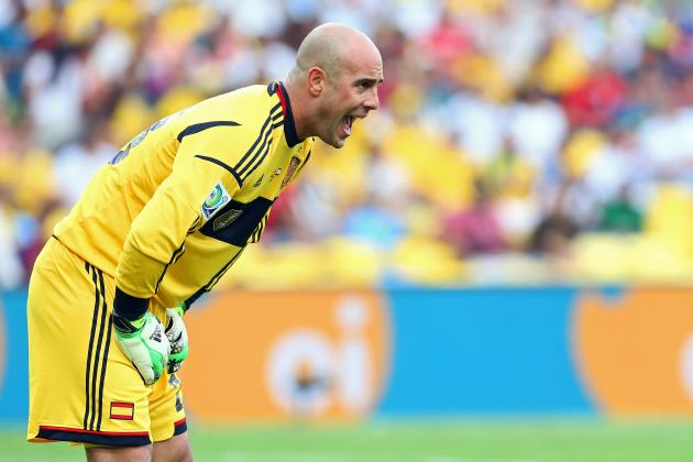 Reina Welcomes Mignolet Signing