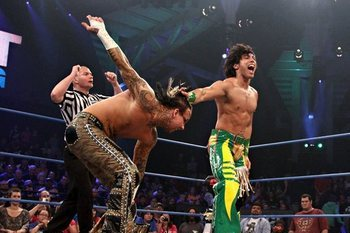 Bad News for TNA Star Zema Ion