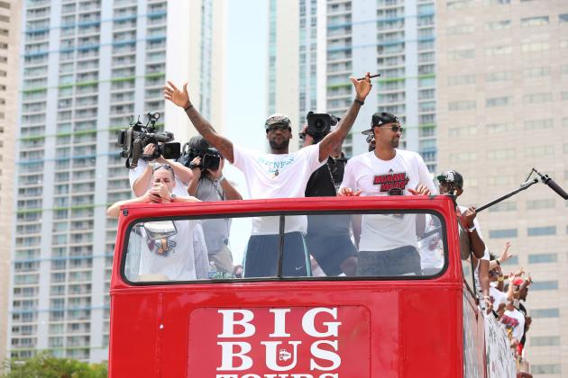 Miami Heat Parade 2013: Live Updates, Highlights and Reaction
