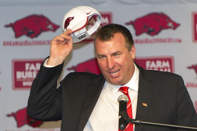Bielema Doesn't Consider Arkansas a 'Rebuilding' Program