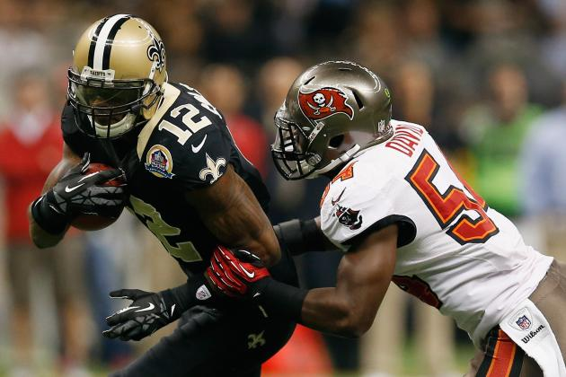 Marques Colston Shows No Signs of Slowing Down