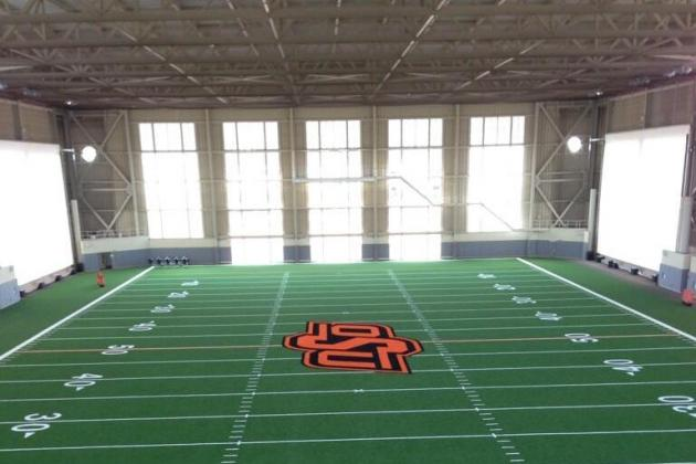 Photos: Oklahoma State's New Indoor Training Facility Looks Incredible