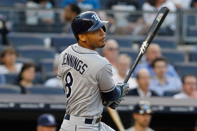 Desmond Jennings out Tonight vs. Blue Jays