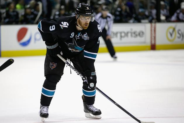 Sharks' Havlat Recovering from Surgery, Ineligible for Compliancebuyout