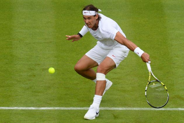 Rafael Nadal's Knee Still Worrisome After 1st-Round Exit at Wimbledon