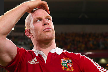 Paul O'Connell out of Lions Tour