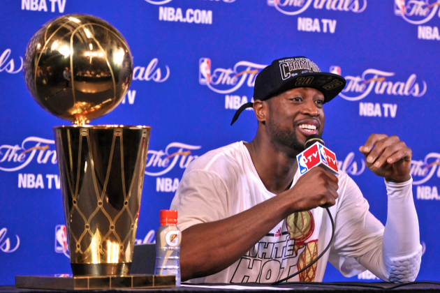 Heat Star Dwyane Wade Gets Fans Into Championship Shape with New 'Driven' App