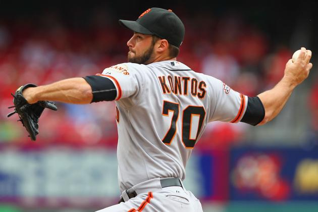 Giants Recall Kontos and Option Machi