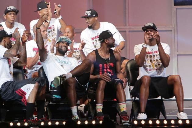 Miami Heat Parade 2013: Best Moments and Images from Victory Celebration