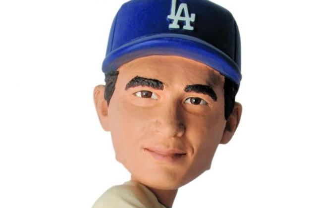 Dodgers Announce Sandy Koufax Bobblehead Night