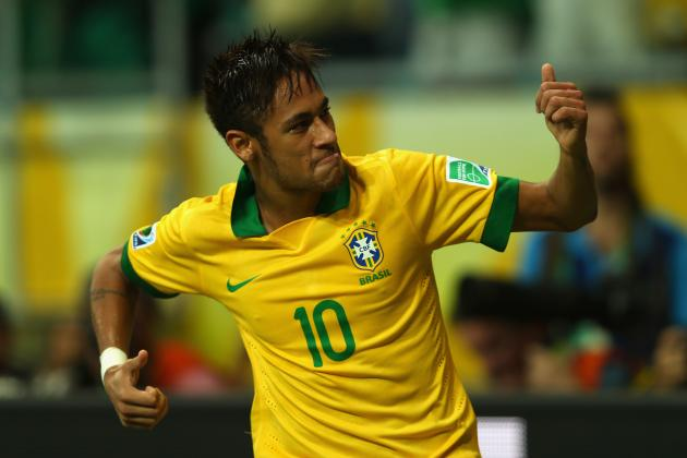 Brazil vs. Uruguay: Ranking Most Dangerous Playmakers in Semifinal Clash