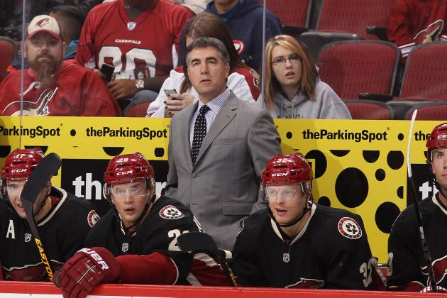 Dave Tippett Hopes His Signing with Phoenix Coyotes Will Be Influential