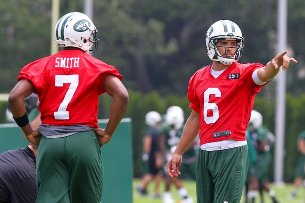 Geno Smith on Jets West: 'We'll See'