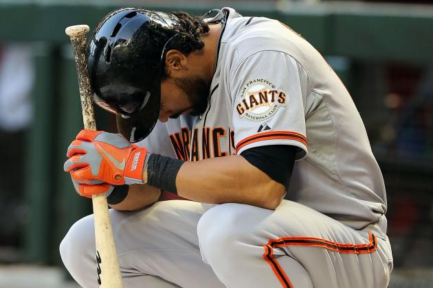Angel Pagan to Undergo Hamstring Surgery, Could Miss Rest of Regular Season