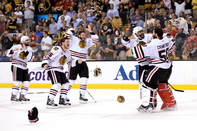 Blackhawks Score Two Goals In 17 Seconds To Win The Stanley Cup