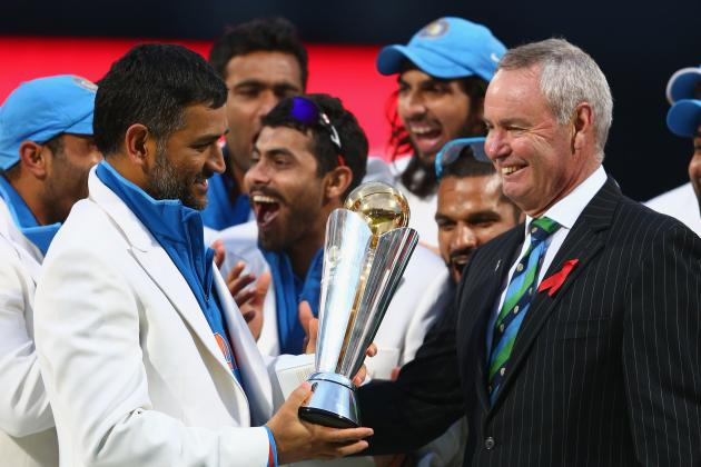 India Beat England to Clinch ICC Champions Trophy