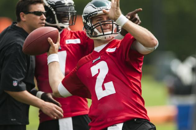 Eagles' Barkley No Stranger to Quarterback Competitions