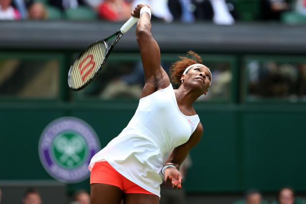 Serena Williams Defeats Mandy Minella to Advance at 2013 Wimbledon