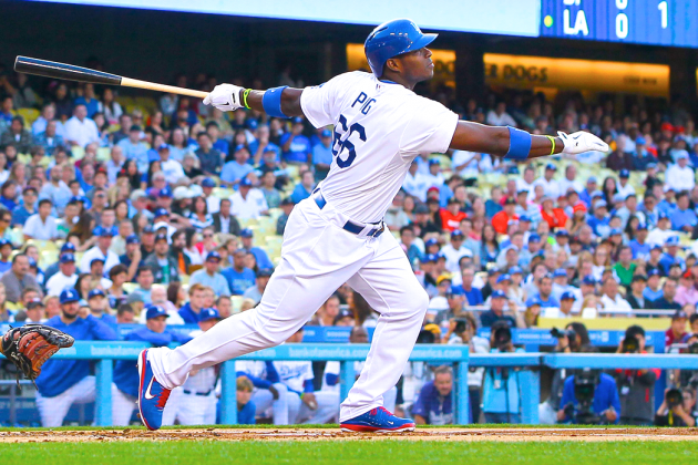 Yasiel Puig Introduces Himself to San Francisco Giants with 3-Hit Night