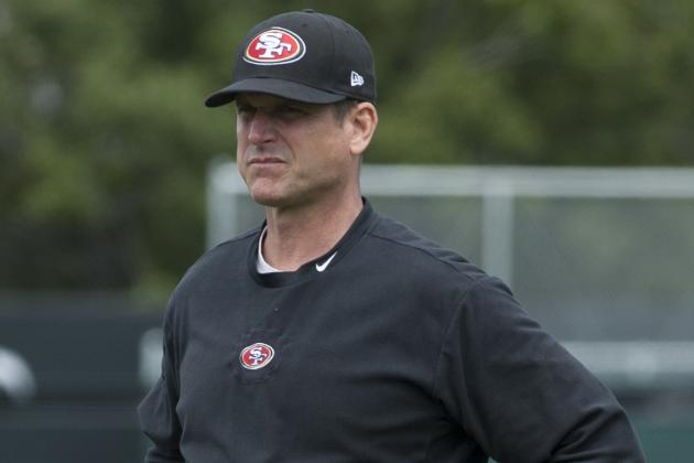 Jim Harbaugh Accustomed to Wearing Bulls-Eye