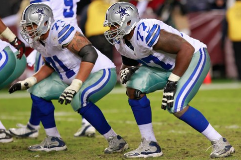 The Cowboys Make The Playoffs If The Offensive Line Stays Intact
