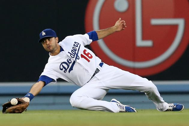 Don Mattingly Praises Andre Ethier's Play in Center Field for Dodgers