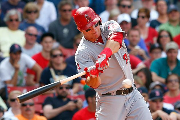 Trout Closing in on First All-Star Game Start