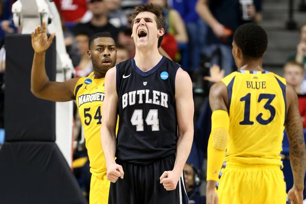 Andrew Smith Works out for the Pacers Again