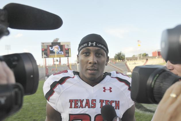 Former Texas Tech Running Back Arrested After Strange Naked Shower Incident