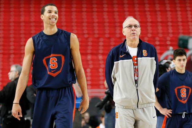Jim Boeheim Assesses the NBA Draft Potential of Michael Carter-Williams