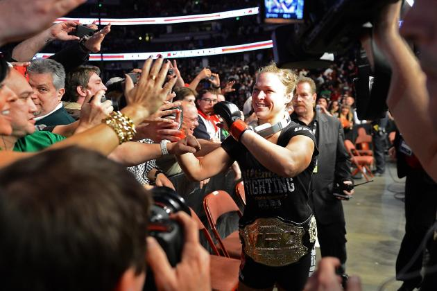 Ronda Rousey Looking at TUF as a Way to Increase Visibilty for Women's Division