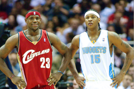 Carmelo Anthony Declares 2003 NBA Draft Class Best of All Time
