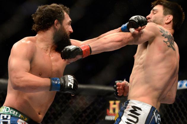 UFC Names Unofficial Best Five Fights of the 2013 Mid-Year