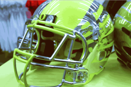 New Oregon Ducks Helmets Leak in Student-Produced Video