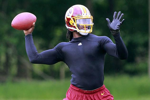 Cousins: RGIII Looks 'Awesome' and Should Be Ready Week 1