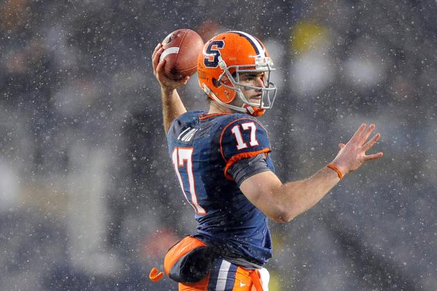 Quarterbacks Coach Tim Lester Assesses the Running Styles of SU's 3 Options