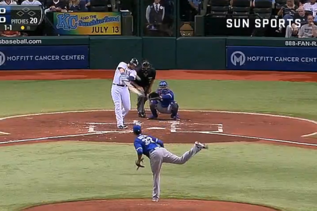Rays Hit Back-to-Back-to-Back HRs