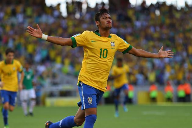 Brazil vs. Uruguay: Confederations Cup Semifinal Will Be Neymar's Toughest Test