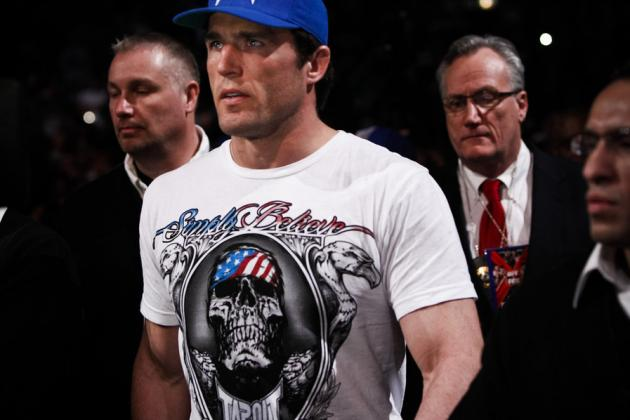 Chael Sonnen Relieved He Never Drew Chris Weidman as an Opponent