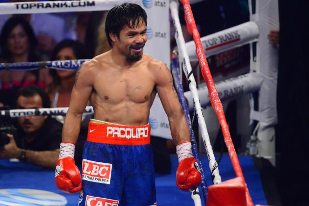 Manny Pacquiao Must Hang Up Gloves with Loss to Brandon Rios