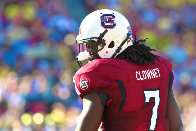 Jadeveon Clowney Only 4th in Sporting News' Top 25 Players Seems Awfully Low