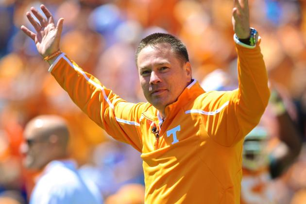 1-on-1 with New Tennessee Football Coach Butch Jones