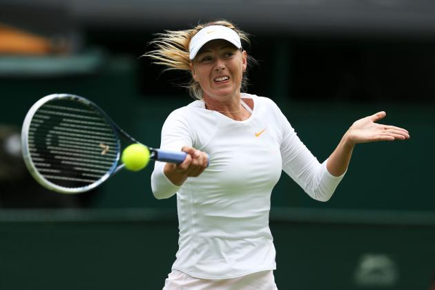 Wimbledon 2013: Maria Sharapova and Stars Struggling Early