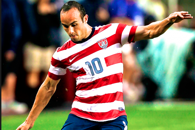 Landon Donovan Included on Final USMNT's CONCACAF Gold Cup Roster