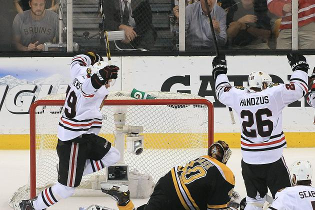 Blackhawks vs. Bruins Stanley Cup Final most watched 'on record' in U.S.