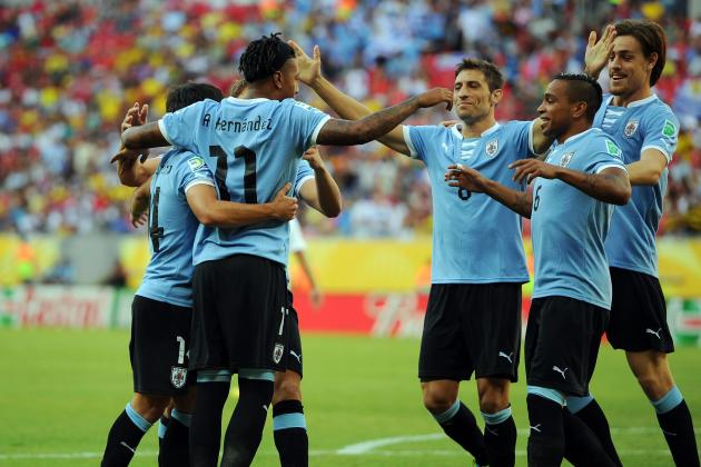 Brazil vs. Uruguay Start Time: Full Preview for Confederations Cup Semifinal